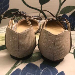 Jimmy Choo Shoes - Euc Jimmy Choo gold glitter flats